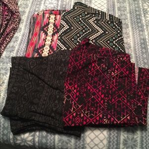 Pants - Bundle of 4 of the softest leggings in the world!